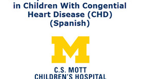 Thumbnail for entry Developmental Milestones in Children with Congenital Heart Disease (CHD) (Spanish)