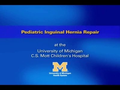Pediatric Surgery - Inguinal Hernia in Boys
