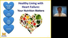 Thumbnail for entry Healthy Living with Heart Failure: Your Nutrtion Matters