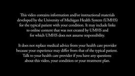 Thumbnail for entry UMHS Pressure Ulcer Patient Video-HD