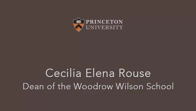 Meet The Dean Woodrow Wilson School Of Public And International