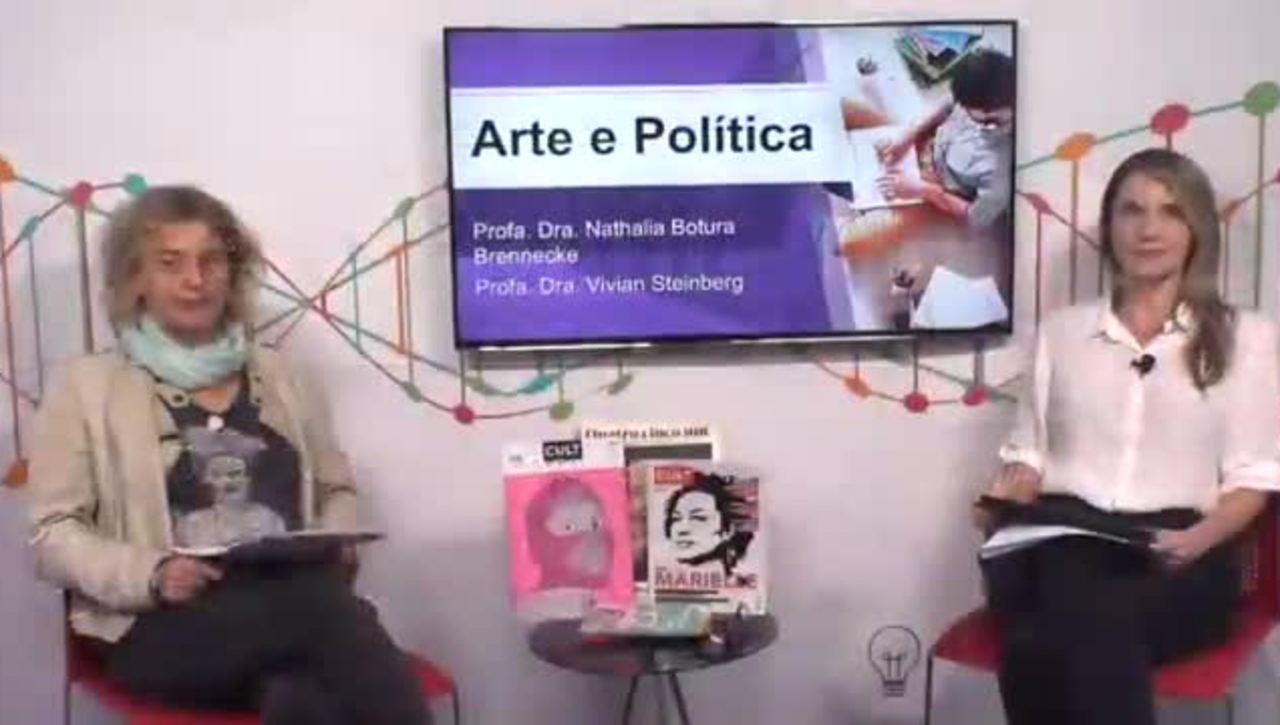 Ciclo de Palestras Letras na Mesa: Arte e Política 1