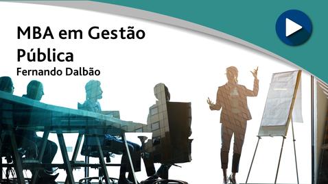 MBA em Gestão Pública - Fernando Dalbão