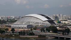 Singapore Sports Hub mode change timelapse