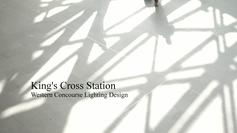 Kings Cross Stn, Western Concourse Lighting Design