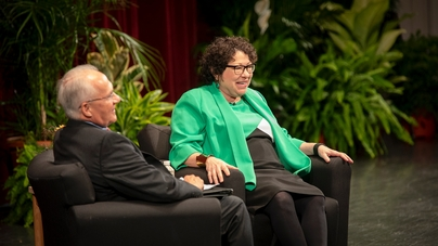 In His Fireside Chat Walker Said He >> A Fireside Chat With Justice Sonia Sotomayor Cornellcast
