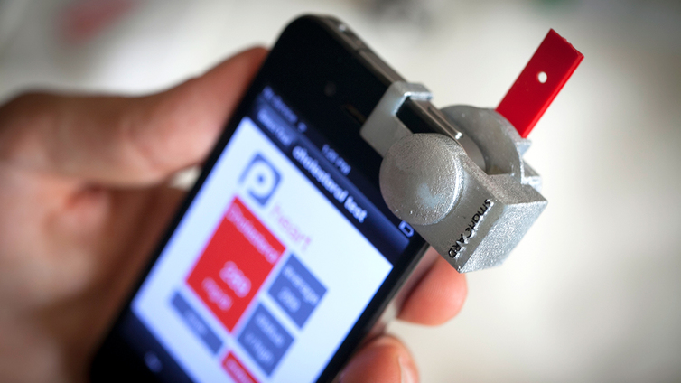 Smartphone App Uses Camera Accessory To Check Cholesterol Level - Height checking app