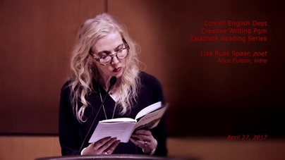 Reading By Poet And Essayist Lisa Russ Spaar 42717