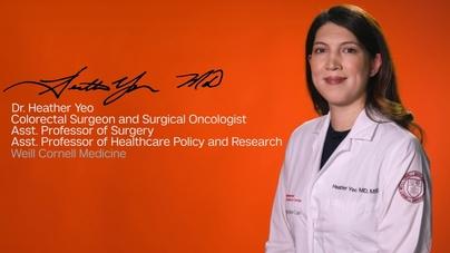We Are Weill Cornell Medicine: Dr  Heather Yeo - CornellCast