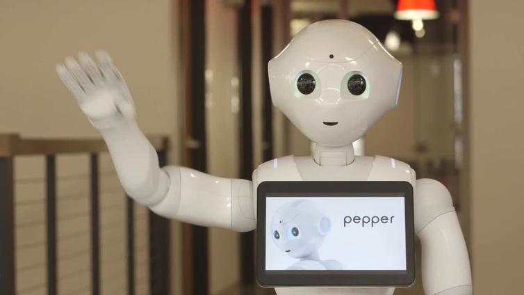 Resultado de imagen para robot pepper