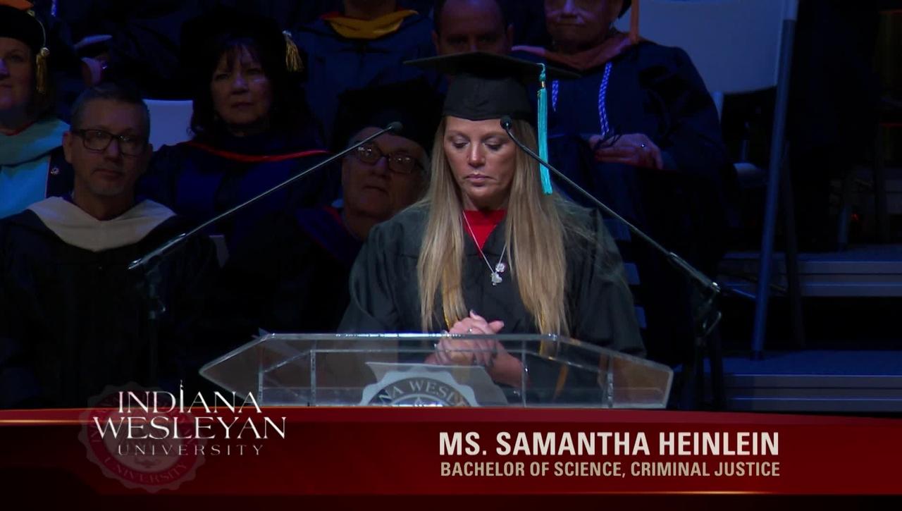 Samantha Heinlein - December 2018 Student Commencement Speaker