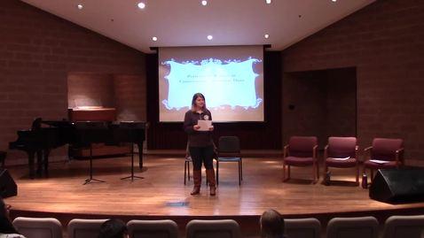 Soprani Compagni - Spring 2017 Principium Faculty Lecture Series