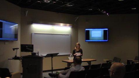 Dr. Jonathan Morgan - Fall 2017 Principium Faculty Lecture Series