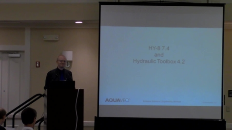 Iowa Research Online National Hydraulic Engineering Conference Hy 8 7 4 And Hydraulic Toolbox 4 2