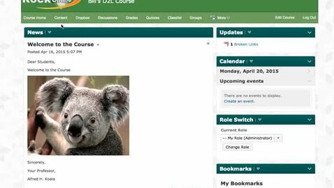 Thumbnail for entry Content - Release Conditions in D2L 10.3