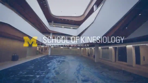 Thumbnail for entry School of Kinesiology Building