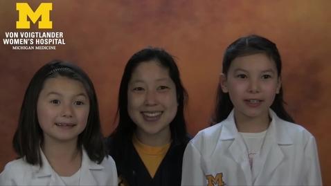Thumbnail for entry Newborn Discharge Video (Von Voigtlander Women's Hospital)