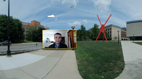 Thumbnail for entry 360° Tour of the University of Michigan: Diag Part 4