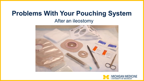 Thumbnail for entry Problems With Your Pouching System