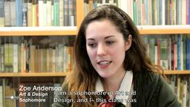 Thumbnail for entry Creating as a Way of Learning: Zoe Anderson