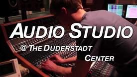 Thumbnail for entry The Duderstadt Center Audio Studio
