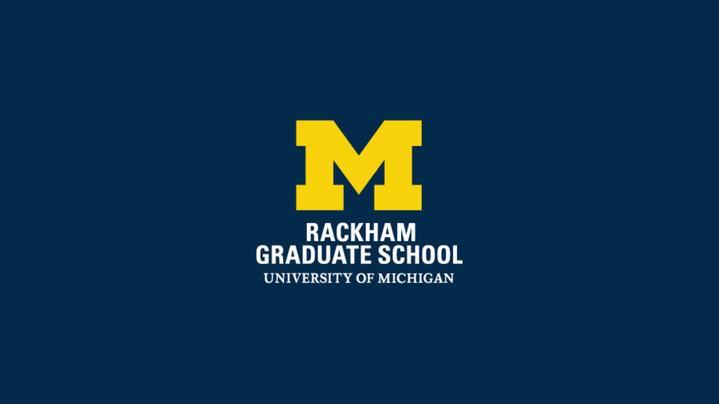 Thumbnail for channel Rackham Graduate School