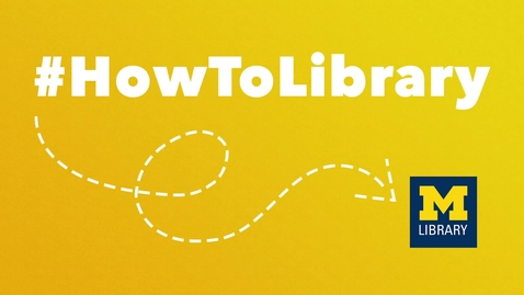 Thumbnail for entry #HowToLibrary: Welcome to Research Guides