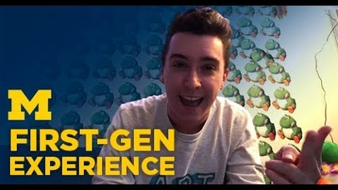 Thumbnail for entry First-Gen Experience