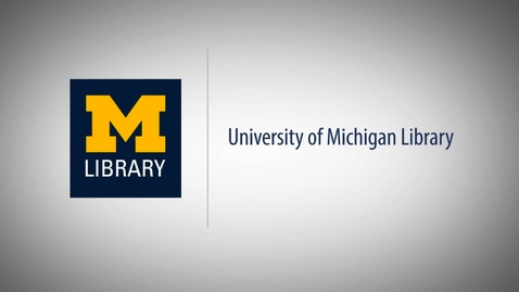 Thumbnail for entry How to Find and Access Articles Using U-M Library Search