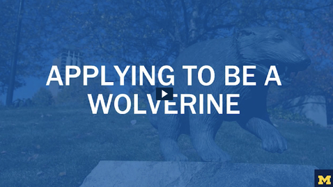 Thumbnail for entry Apply to be a Wolverine