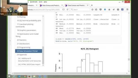 Thumbnail for entry DSPA Chapter 2 Data Management in R