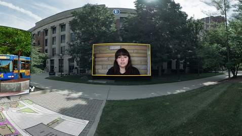 Thumbnail for entry 360° Tour of the University of Michigan: Diag Part 2