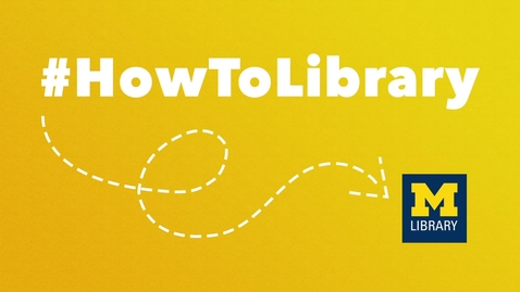 Thumbnail for entry #HowToLibrary: The New PubMed