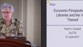 Thumbnail for entry Economic Reflections on Libraries