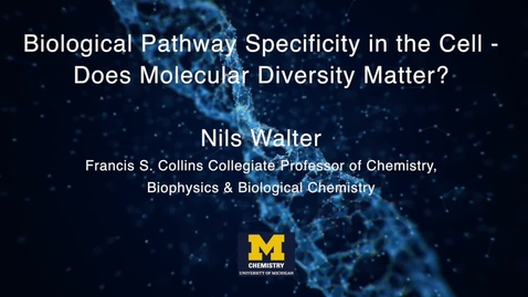 Thumbnail for entry BioEssays - Biological Pathway Specificity in the Cell -  NWalter
