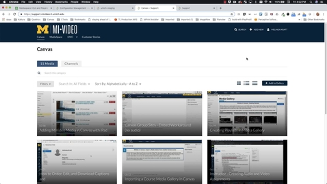 Thumbnail for entry Kaltura V2 User Interface Configuration