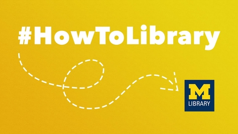 Thumbnail for entry #HowToLibrary: Choosing a Citation Management Tool