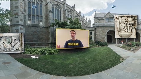 Thumbnail for entry 360° Tour of the University of Michigan: Law Quad