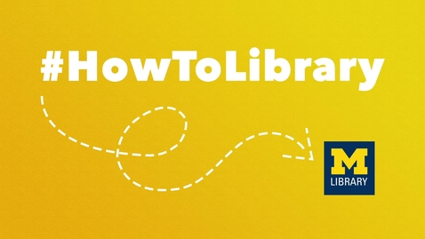 Thumbnail for entry #HowToLibrary: News You Can Use