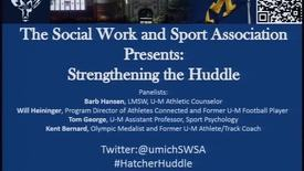 Thumbnail for entry Strengthening the Huddle: An Interdisciplinary Panel Discussion on Athletes and Mental Health