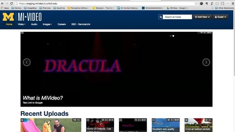 Thumbnail for entry Mediaspace Home Module Setup