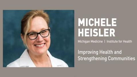 Thumbnail for entry Michele Heisler