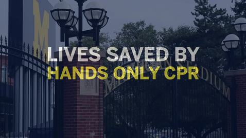 Thumbnail for entry Hands Only CPR