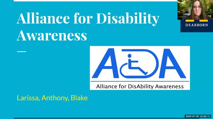 Thumbnail for channel UM-Dearborn Disability Services