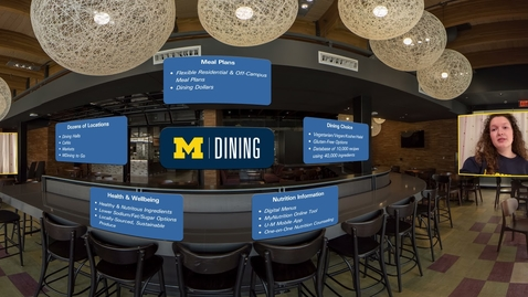 Thumbnail for entry 360° Tour of the University of Michigan: Dining