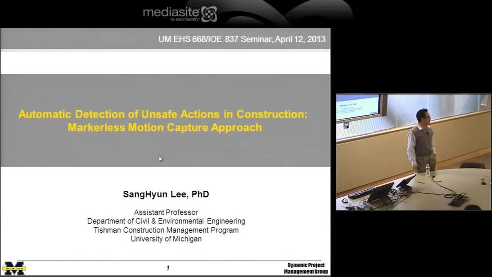 041213 Automatic Detection Of Unsafe Actions In Construction