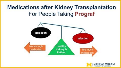 Thumbnail for entry Prograf: Medications after Kidney Transplantation