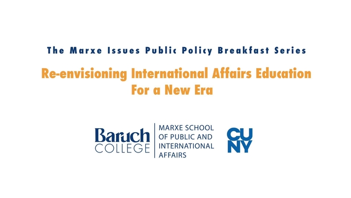 Re-envisioning International Affairs Education in a New Era