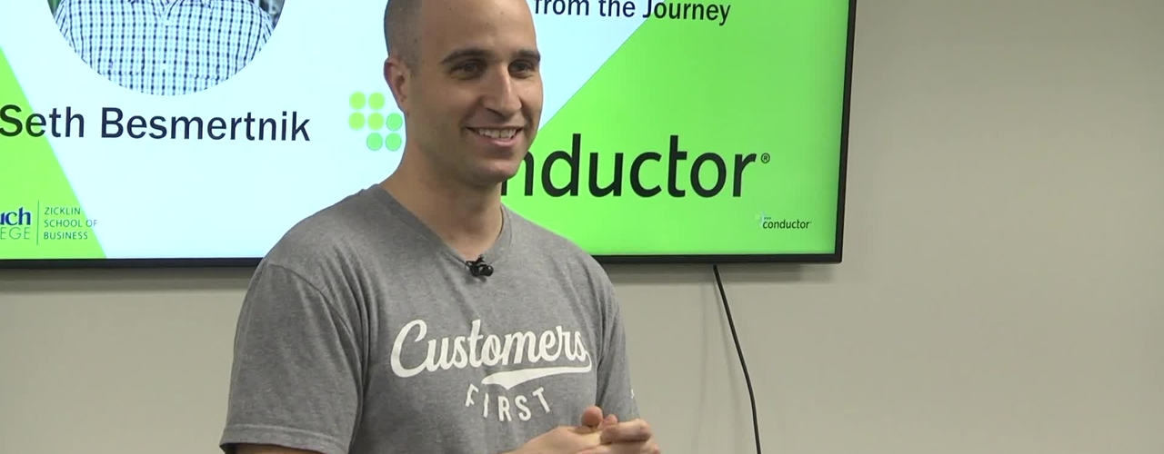 From Baruch Student to 100 Million Dollar : CEO Learning from the Journey