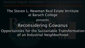 Reconsidering Gowanus: Opportunities for the Sustainable Transformation of an Industrial Neighborhood